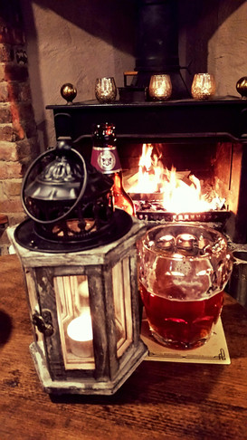 A COSY PINT AT THE MILL WHEEL