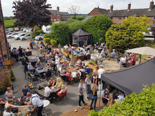 local pub beer garden