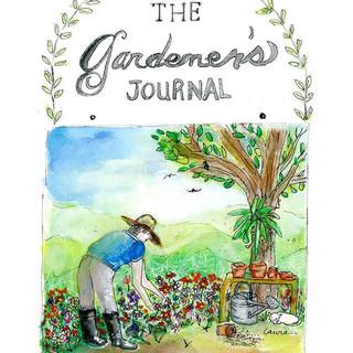 Watercolor book cover