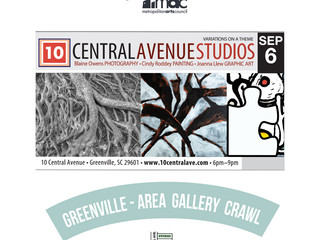 First Friday with 10 Central Ave. Studios