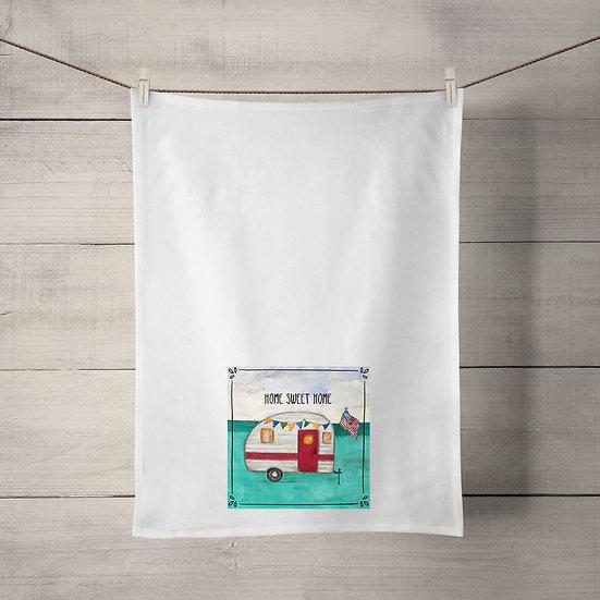 Flour Sack Tea Towel - Camper