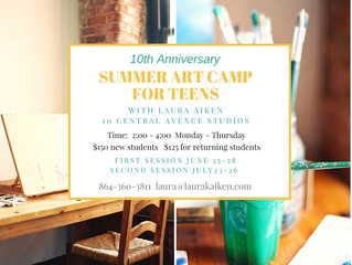 Annual Summer Art Camp for Teens