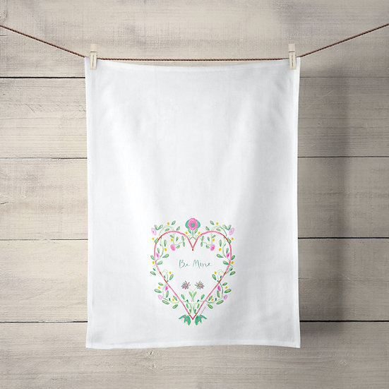 Valentine's Tea Towel