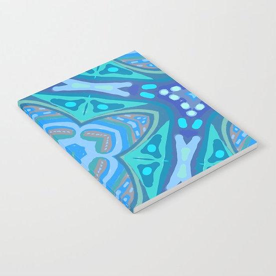 Journal - Blue Moroccan Design