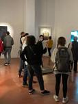 Día de la apertura de la exposición