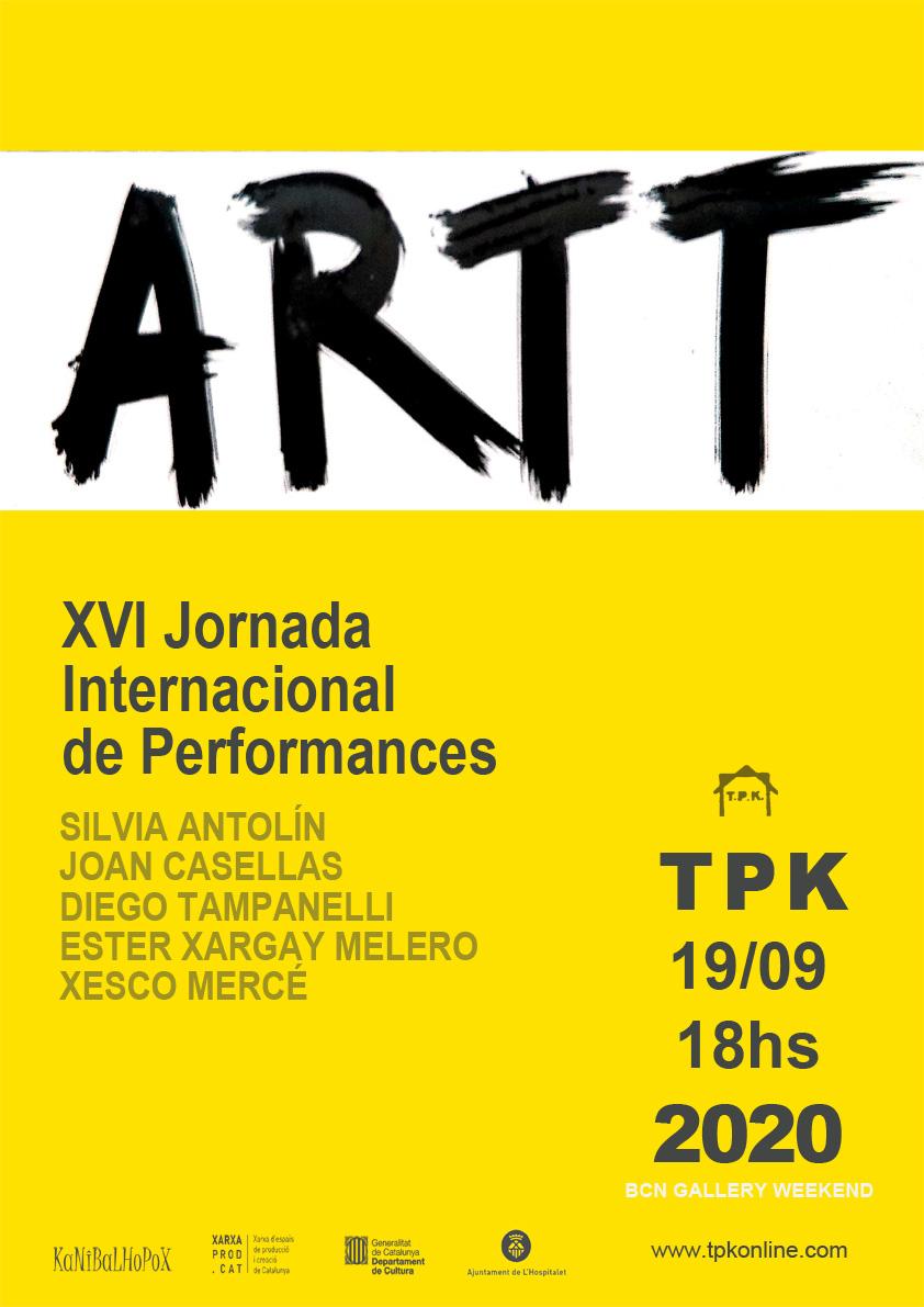 XVI performances - ARTT 2020