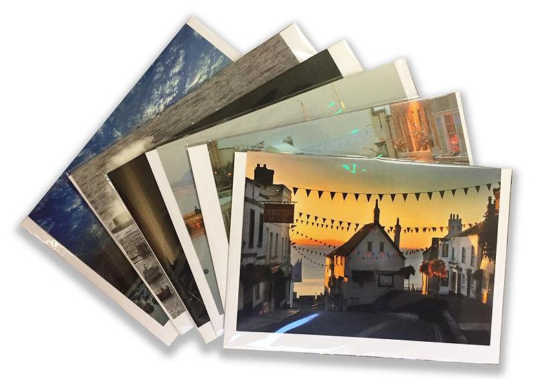 6 Card Packs - Lyme Regis Collection.