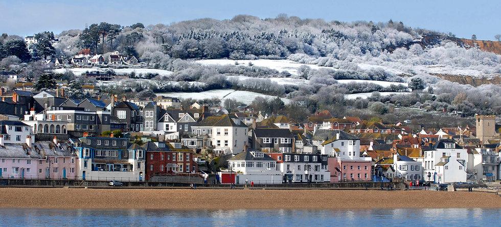 Winter Hills, Lyme Regis Seafront.
