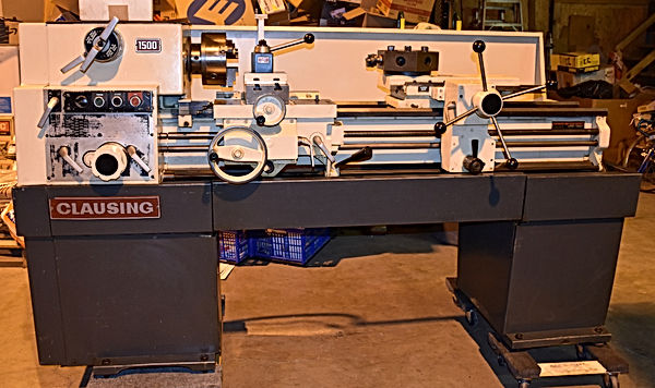 Well Maintained Clausing Turret Lathe