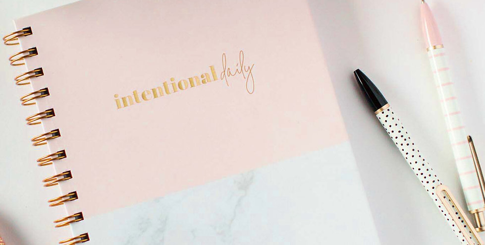 Intentional Daily Planner (Hardcover)