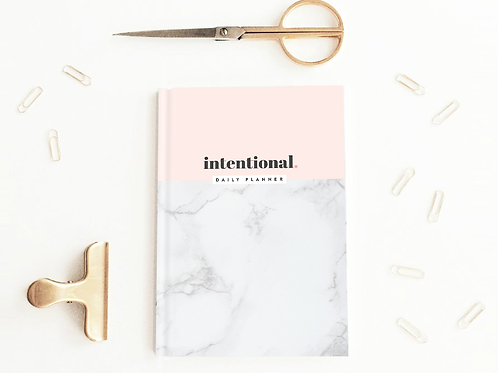 Intentional Daily Planner (Softcover)