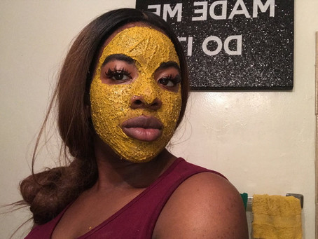 HOW TO APPLY TURMERIC MASK!