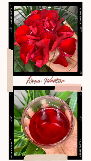 DIY: ROSE WATER