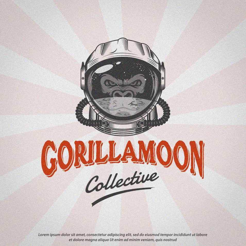 Logo Gorilla Moon Collective