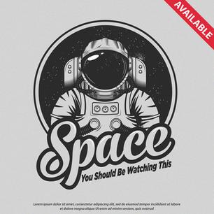Logo Spaceman Watching
