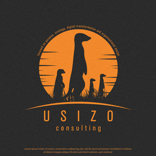 Logo Usizo Consulting Meercat