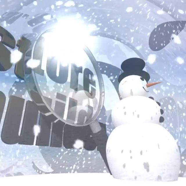 Storebuilder Snowman Festive FULL
