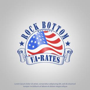 Logo Rock Bottom VA Rates
