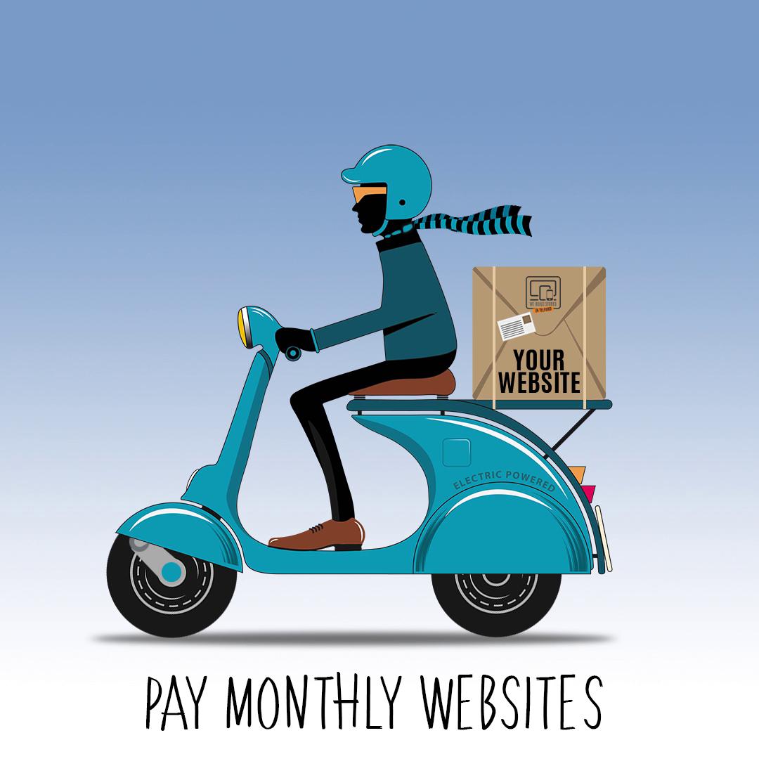 Motor Bike Animation for social media