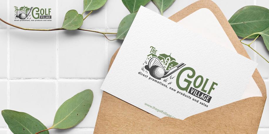 Logo The Golf Village HORIZ-02