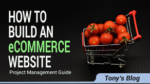 How To Build An eCommerce Website – Project Management Guide