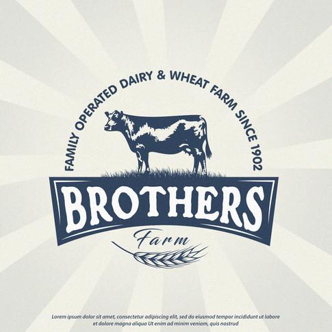 Logo Brothers Farm