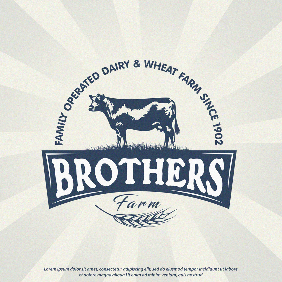 Logo Brothers Farm