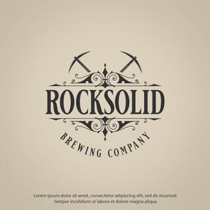 Logo Rock Solid Brewing Company