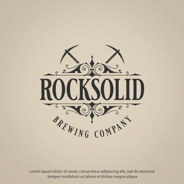 Logo Rock Solid Brewing Company