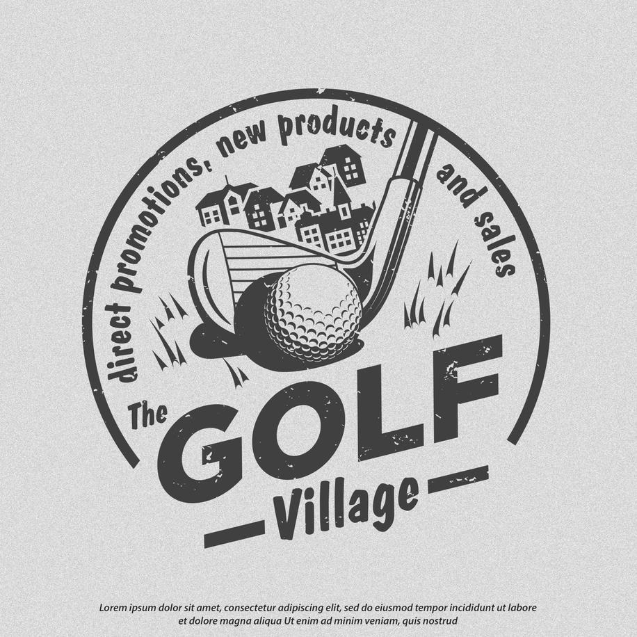 Logo The Golf Village CIRCULAR-01