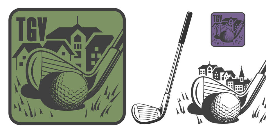 ICON The Golf Village And Incidental Graphics