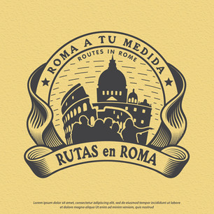 Logo Rutas en Roma Rome