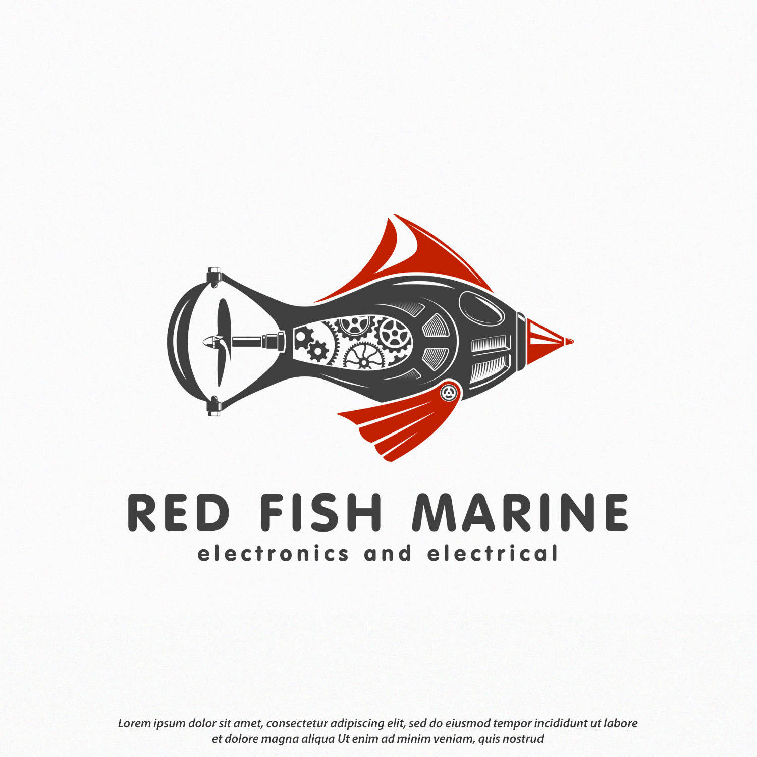 Logo Red Fish Marine