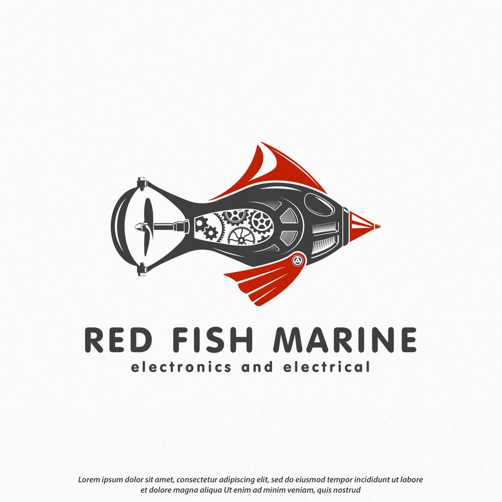 Logo Red Fish Marine