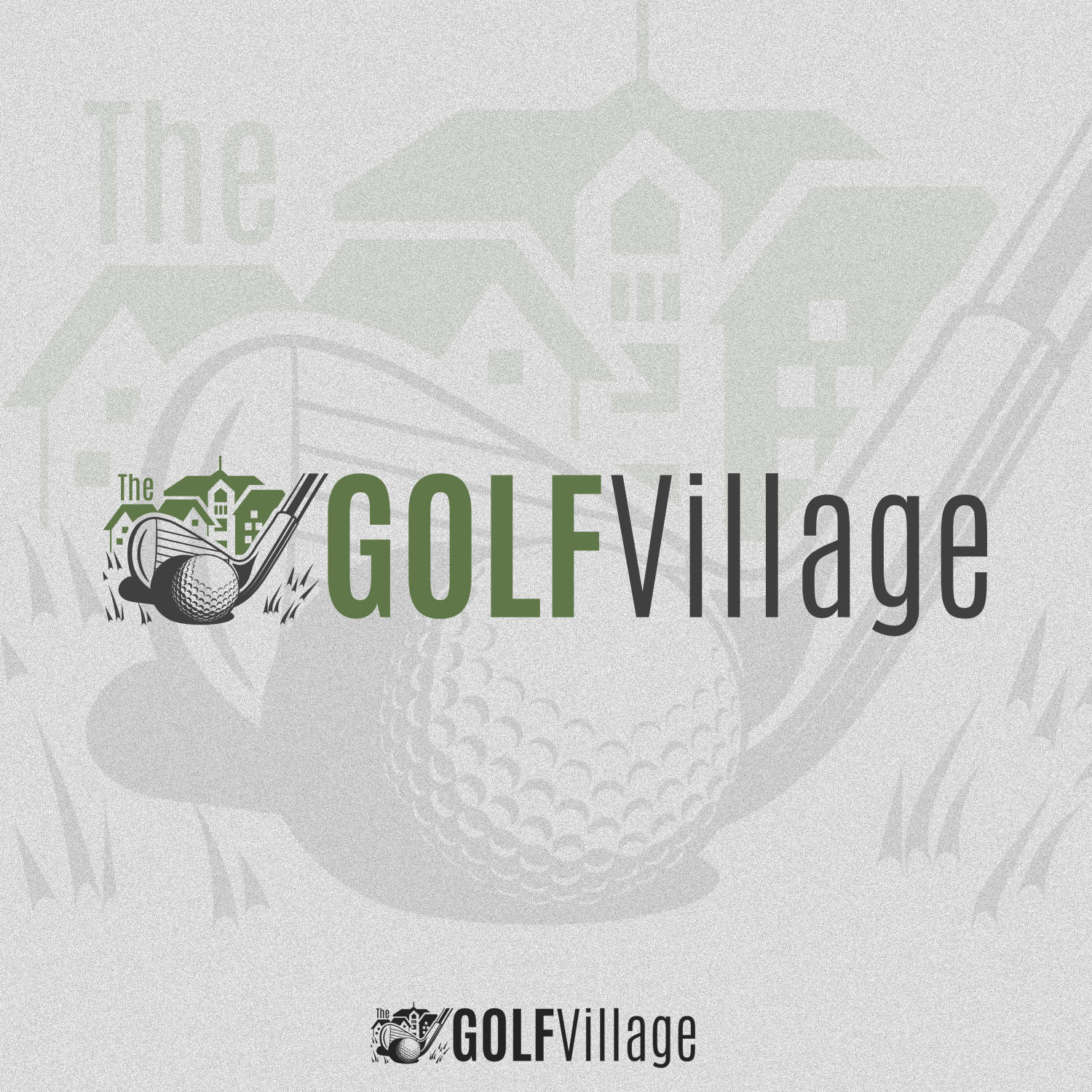 Logo The Golf Village HORIZ-01