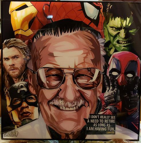 Stan Lee and Heroes