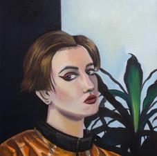 Portrait of a woman, Berlin, 2019