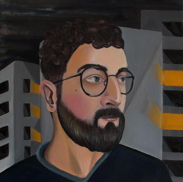 Portrait of a man Berlin 2019