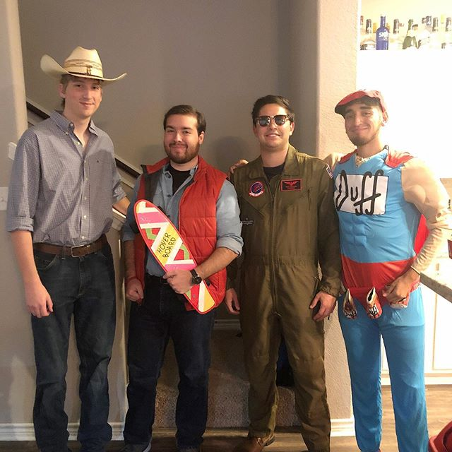 Halloween Party + Astros Game Social (2019)