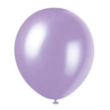 "Balloon Latex 12"" Pearl Dusty Lavender 72C"
