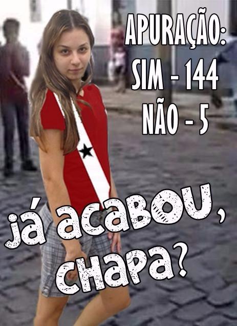 NOVA CHAPA ELEITA!