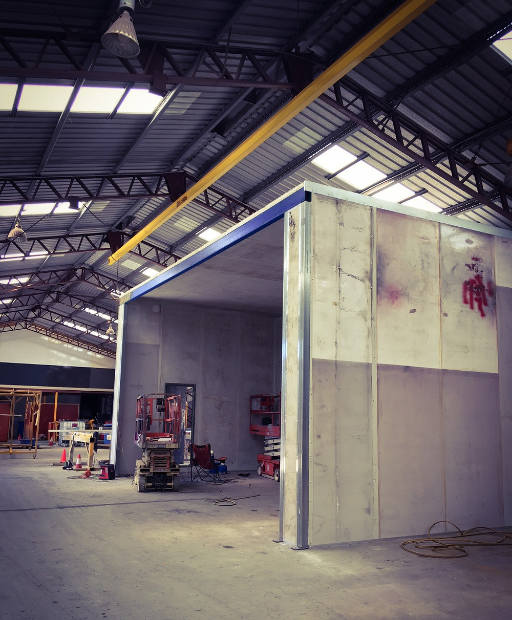 Protective Paint Coating Booth in Toowoomba.