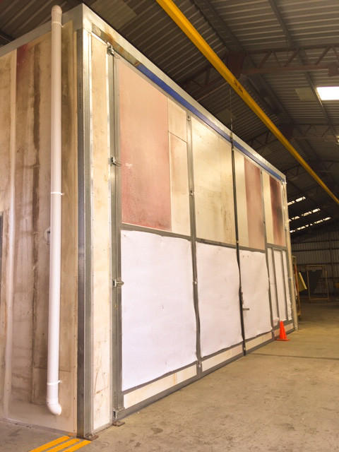 Protective Coatings Paint Booth
