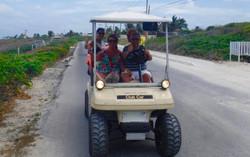 voiture de golf, Ile des Femmes