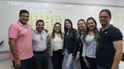 Abraçando a turma de Curitiba