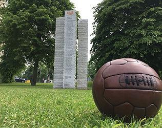 Football + sculpture May 2018.JPG