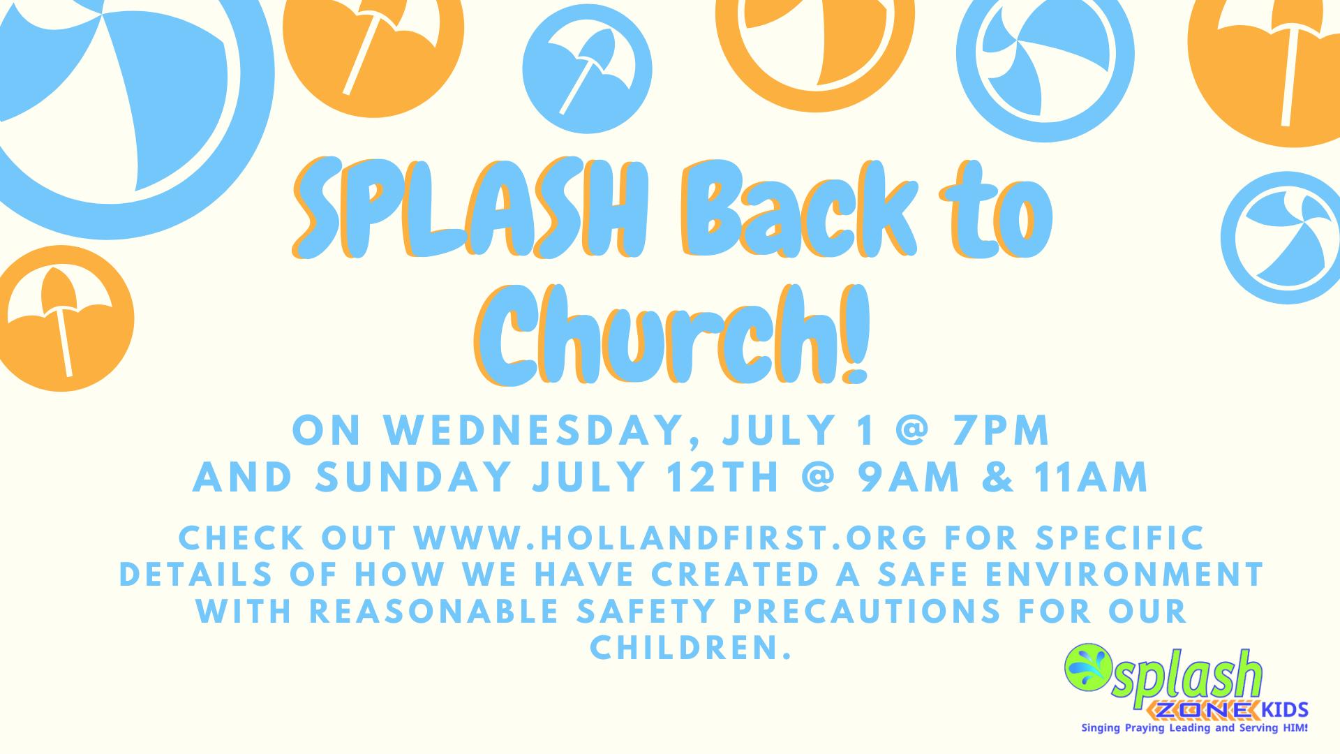 Splash Zone Kids!