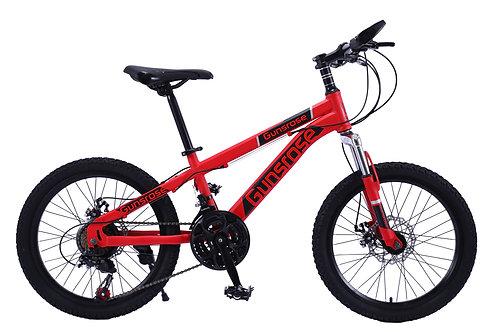 "20"" GUNSROSE Kids Mountain Bike SHIMANO Gear 21 Speed"