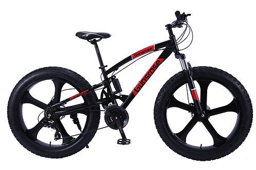 "24 Speed Hydraulic Brake 26"" GUNSROSE G5.0 Fat Tyre Bike SHIMANO Gear"