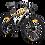 "Thumbnail: 26"" BATTLE W100 Mountain Bike 24 Speed"